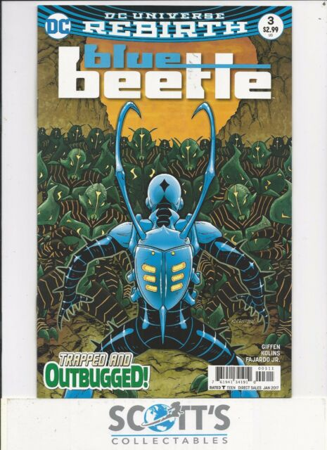 BLUE BEETLE  #3  NEW  (BAGGED & BOARDED) FREEPOST