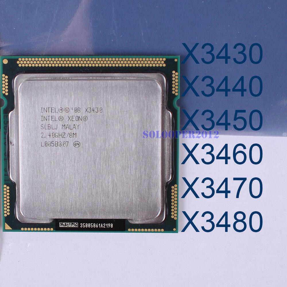 Intel Xeon X3440 2 53GHz Quad-Core (BX80605X3440) Processor