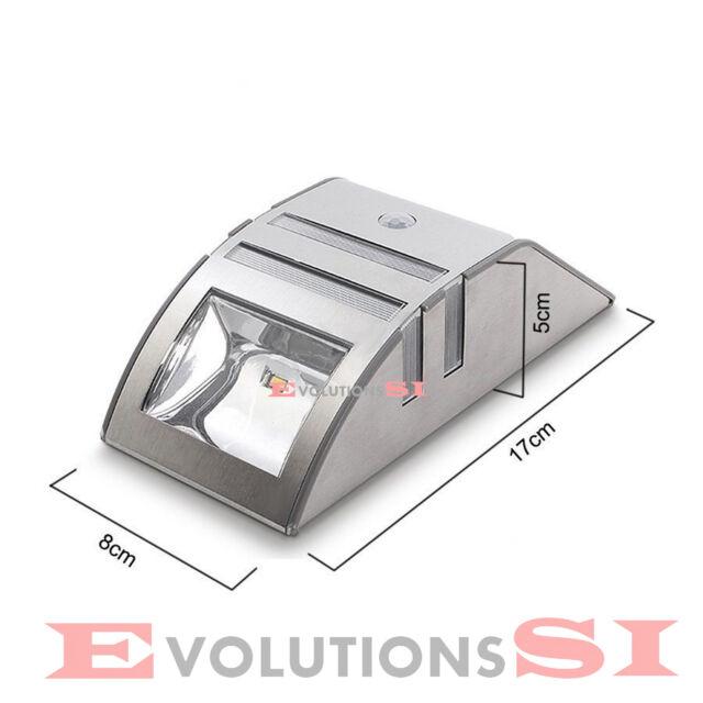 FOCO LED SOLAR EXTERIOR SENSOR PIR MOVIMIENTO AUTOENCENDIDO ENVIO 24/48H