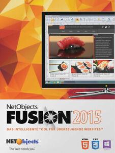 NetObjects Inc. Fusion 2015 Upgrade, Download, Windows