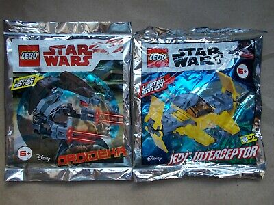 Jedi Interceptor Foil Pack Polybag New /& Sealed Lego Star Wars 911952