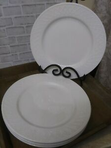 "3-Totally Today Dinnerware Lattice Pattern Dinner Plate 10 3/8"" EXCELLENT"