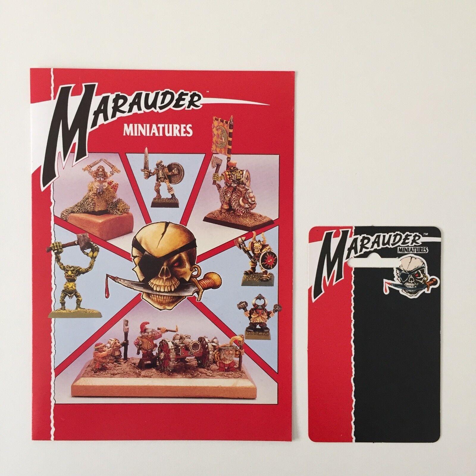 MARAUDER MINIATURES CHRISTMAS CARD SIGNED TRISH & ALY MORRISON AUTOGRAPH (1989)