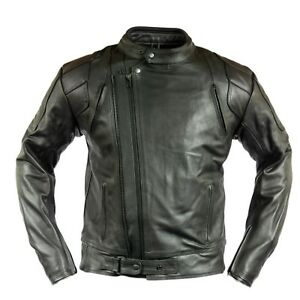 herren motorrad lederjacke chopper biker jacke. Black Bedroom Furniture Sets. Home Design Ideas