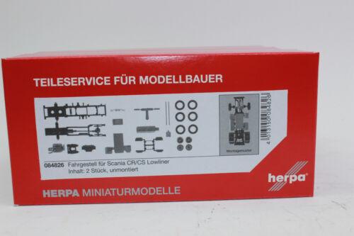 CS Lowliner 1:87 H0 NEU OVP Herpa 084826  Zugmaschinen-Fahrgestell Scania CR