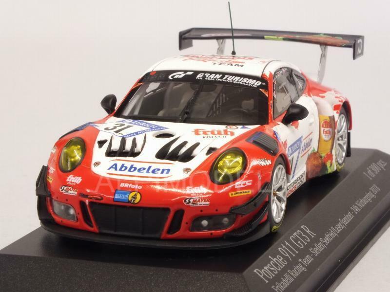 Porsche 911 GT3-R Nurburgring 2018 Seefried - Lase 1:43 MINICHAMPS 413186731