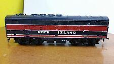 MAR Vintage Train Car ROCK ISLAND BLACK & RED No Reserve