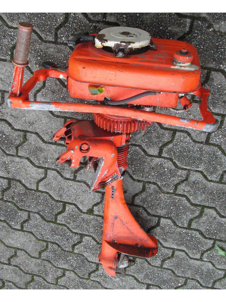 Alter Alter Alter Außenborder Motor Stiefelmotor Hersteller unbekannt für Bastler cc5bcd