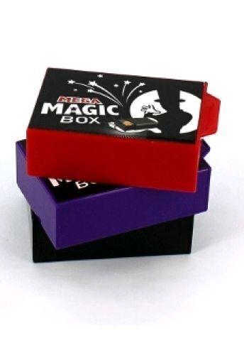 MEGA MAGIC BOX 11CM 1 PC TRICK VANISH /& APPEAR CHANGE DRAWER SECRET CLOSE UP KID
