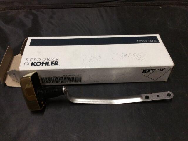 Kohler K-9171-L-PB SAN SOUCI Trip Lever for K-5172 Vibrant Polished Brass Antique