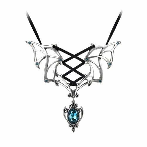 Official Alchemy Gothic Vampires Corset Necklace - Pendant Jewellery