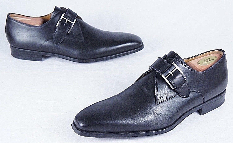 marca Magnanni 'Hugo' Monk Strap Slip Slip Slip On (Mens 8M)  punto vendita