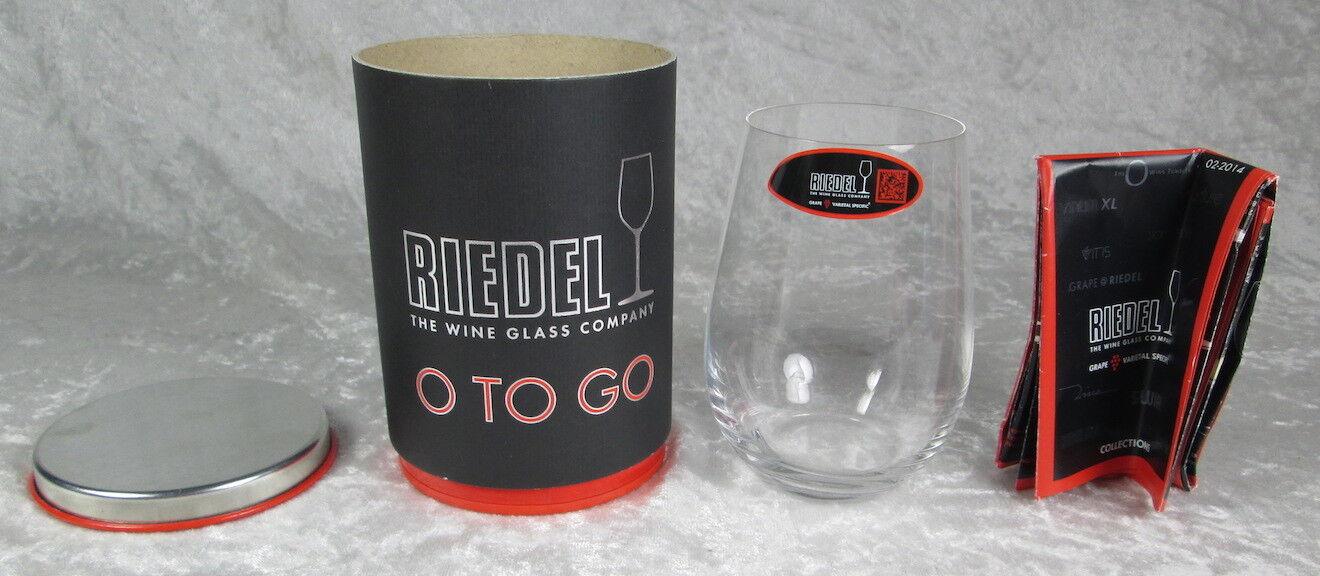 Riedel O Wine Tumbler White Wine O To Go Glass New In Box