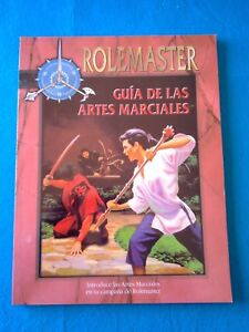 Rol-Rolemaster-Guia-de-las-artes-marciales-La-Factoria-RL660