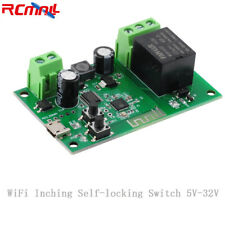 New Listing1 Channel Wifi Wireless Switch Inching Self Locking 5v 32v Phone App Control