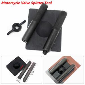 Motorcycle Bike Car Cylinders Spring Compressor Remover Valve Splitter Tools Set