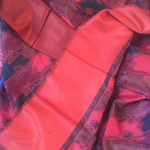 zecca in indiana 611 nuova Sciarpa Pashmina invernale lana di Kashmir Sciarpa in avvolgente lana AwqCYCzxF