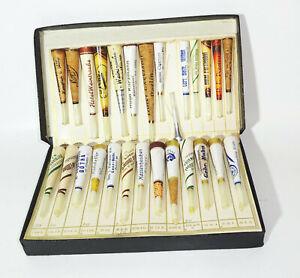 Musterbox Ancienne Publicité Fume-Cigarettes 1920er 1930er Collection Vintage