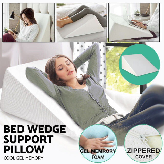 Leg Elevation Wedge Elevator Ortho Pillow Rest Improve Circulation Back Pain