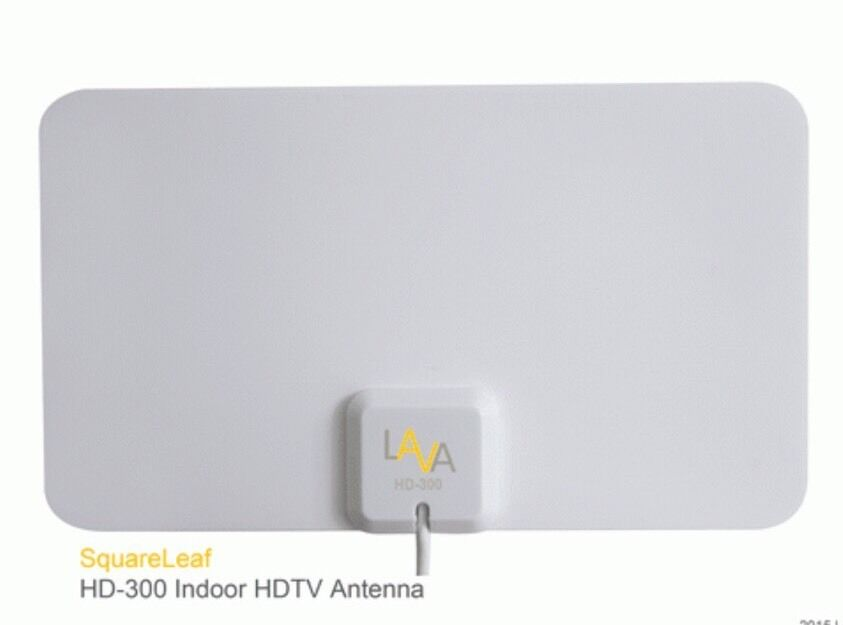 LAVA Squareleaf Indoor HDTV Antenna HD-300. Available Now for 27.99