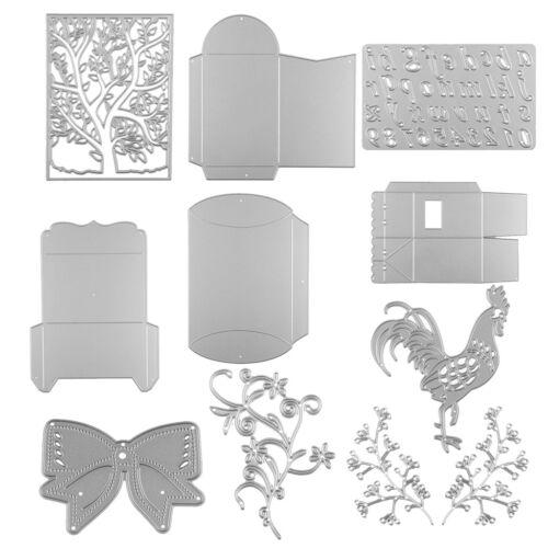 Metall Stanzformen Schablone Vorlage für DIY Scrapbook Album Papier Karte