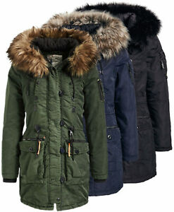 khujo jacken damen winter olive