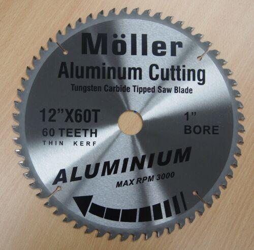 "3 Lot of 12/"" x 60T Aluminum Cutting TCT Saw Blade"