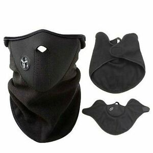 NEOPRENE-MOTOR-CYCLE-BIKE-BICYCLE-SKI-SNOWBOARD-FISHING-NECK-WARM-HALF-FACE-MASK