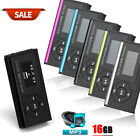 Slim Mini USB MP3 Music Media Player LCD Screen Support 16GB Micro SD TF Card