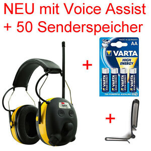 PELTOR-24db-Digital-Radio-Gehoerschutz-Kopfhoerer-mit-BASS-Boost-Sprachassistent