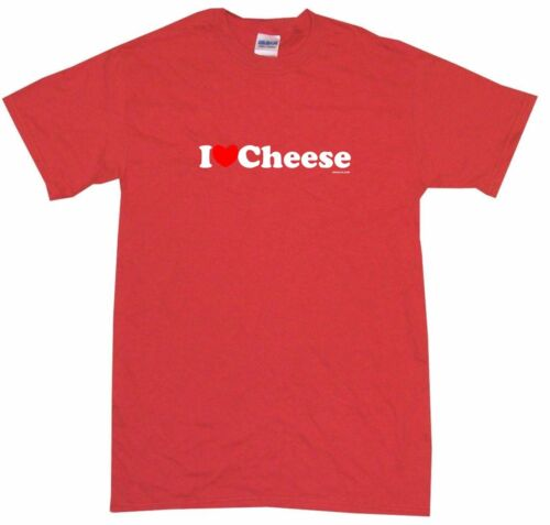XL I Heart Love Cheese Kids Tee Shirt Pick Size /& Color 2T