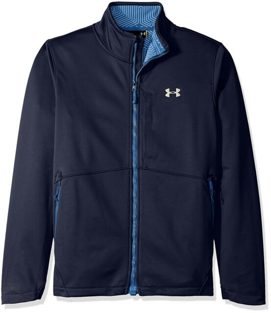 9cce0c0e988c Under Armour UA Men s Storm Softershell Jacket Cold Gear Large ...