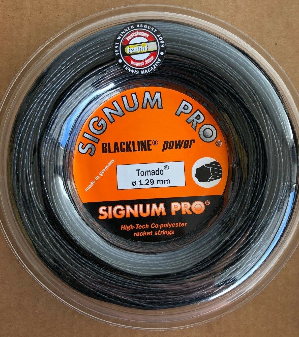 Signum Pro Tornado 16G (1.29mm) Tennis String REEL - 660 feet   200m