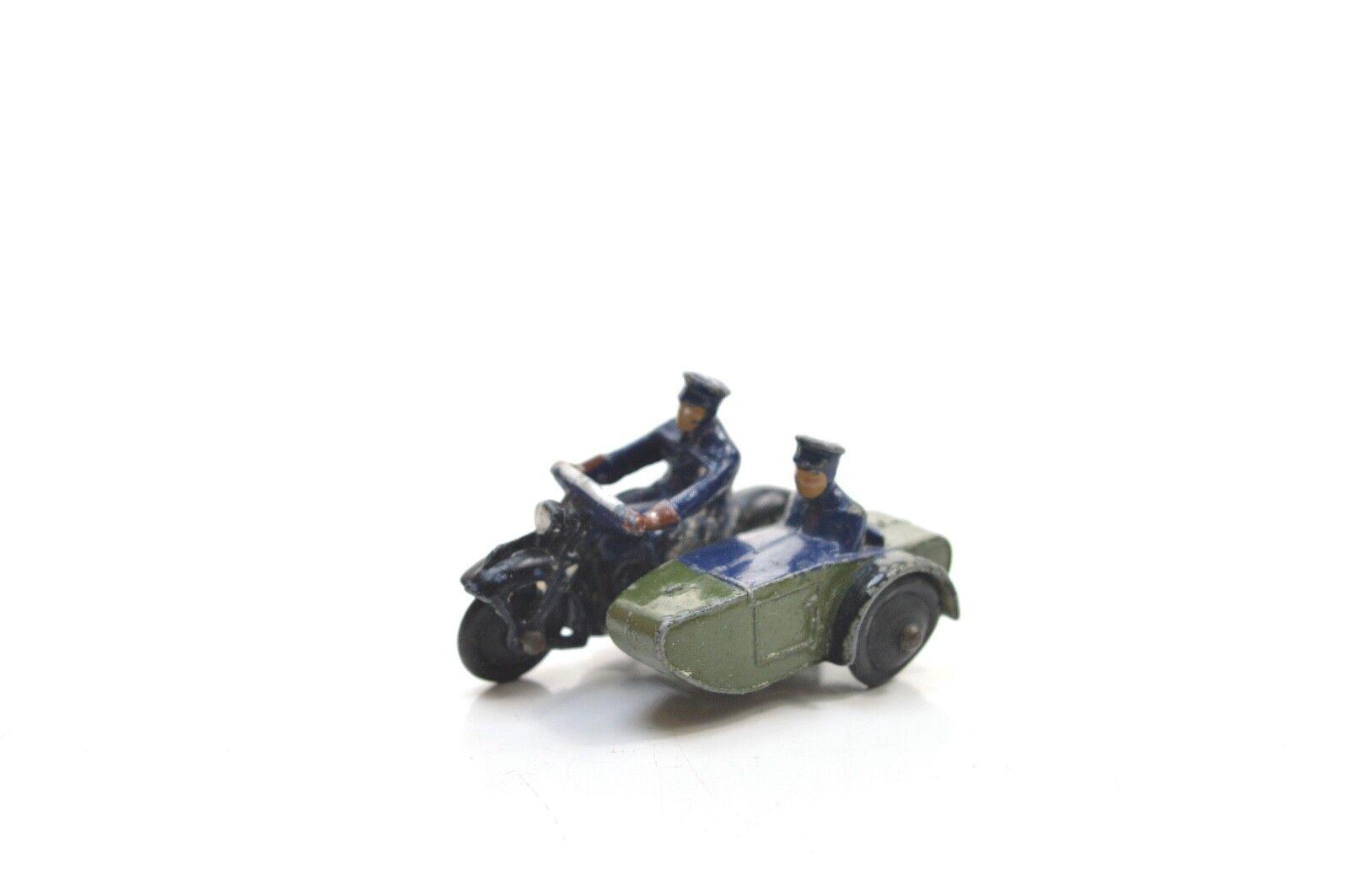 DINKY 42 POLICE MOTORCYCLE PATROL