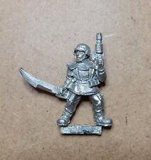 Warhammer 40k Imperial Guard Cadian Sergeant - Metal - Stripped