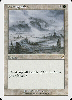 Armageddon Collectors Edition Int NM Rare CARD ABUGames