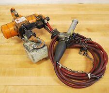 Harrington Hoists AH500P, Pneumatic 500LB Mini Cat Hoist. 15ft Chain - USED