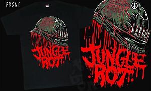 JUNGLE ROT T-shirt SIZES S to 6XL Terror Regime American death metal band