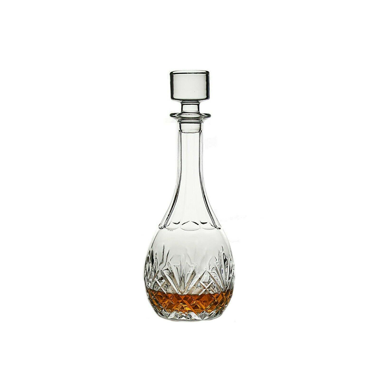 Finest Quality Thick Hand Blown Spirit Decanter Wine Carafe Lead Free 34 Fl For Sale Online Ebay