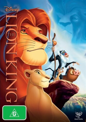 1 of 1 - The Lion King (DVD, 1994) NEW R4 Disney Classic