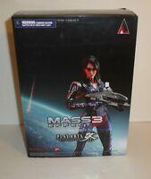 Mass Effect 3 Game Play Arts Kai Ashley Williams Figure Square Enix Figurine