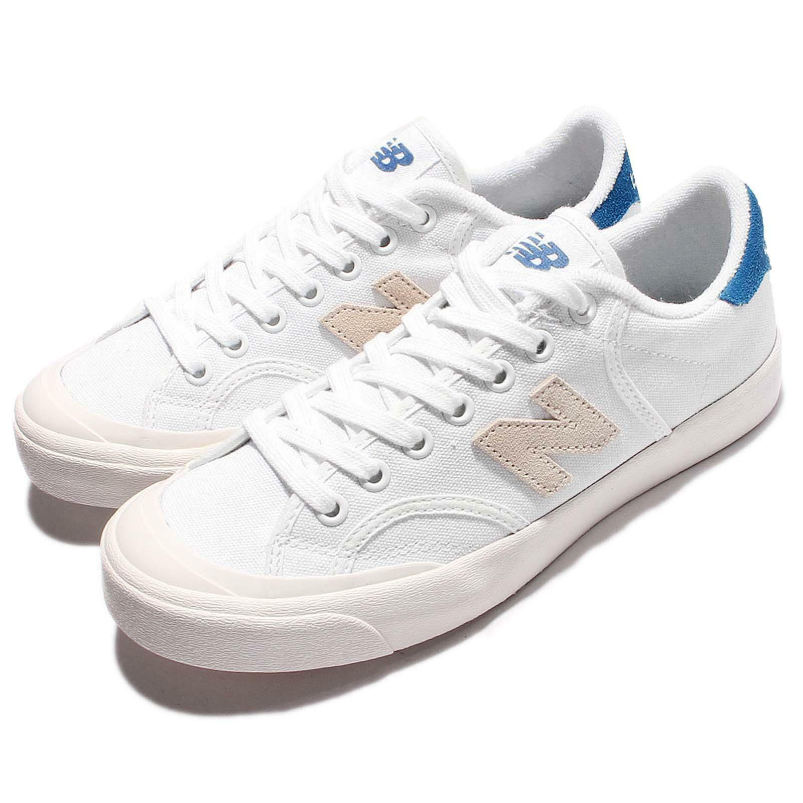 New Balance PROCTWT D ProCourt White Blue Uomo Casual Shoes  PROCTWTD