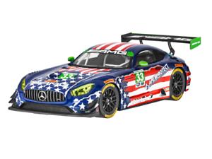 ¡No dudes! ¡Compra ahora! Original Mercedes-AMG gt3   Riley Riley Riley raceteam 4th July   metal   1 18   b66960455  100% autentico