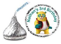 216 Special Agent Oso Birthday Party Favors Hershey Kisses Labels