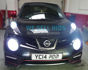 h4 bi xenon hid umbausatz nissan juke nismo 6000k wei. Black Bedroom Furniture Sets. Home Design Ideas