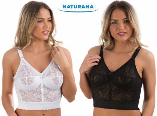 Ladies Longline Bra Underwear Support Shape Clothes Naturana