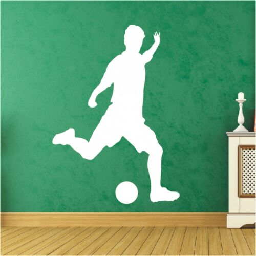 Ombre mural football footballeur ballon Sport Autocollant Sticker 3