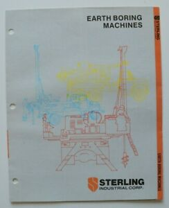 STERLING-Earth-Boring-Machines-1986-dealer-brochure-catalog-English-USA