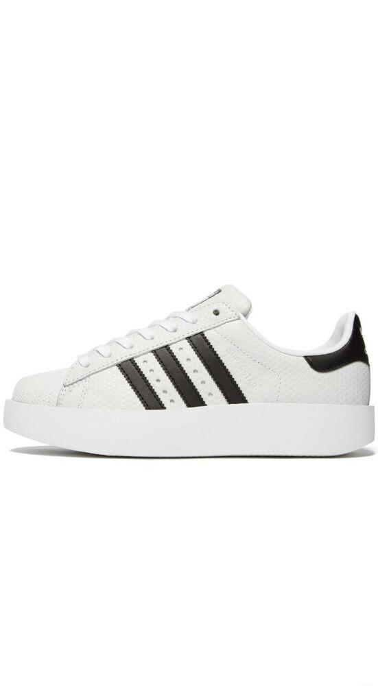 5 Uk Bold Taille 6 Stars Noir box Super Adidas Blanc qg81tU